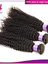 obearbetade brasilianska jungfru hår djupt lockigt 3st mycket brasilianska kinky lockigt jungfru hår väva billig remy människohår
