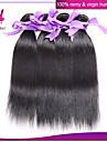 peruanska jungfru hår rakt människohår väva naturligt svart 4st hel peruanska rakt hår buntar förlängning