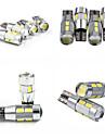 teso t10 4w dc 11 à 13 v 5630/5730 SMD LED canbus grande lampe, lampe de lecture, éclairage de la plaque 6000-6500k