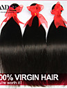 """3 pièces Lot 8 """"-30"""" remy noir faisceaux de tissage de cheveux humains brésiliens non transformés trames premières vierges de cheveux"""