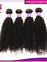 brasilianska lockigt jungfru hår buntar billig brazillian djupt lockigt 100% äkta kinky lockigt hår väva
