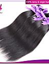 indiska jungfru rakt hår 3st ingen utgjutelse naturligt svart # 1b färg