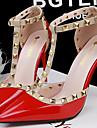 Chaussures Femme - Habillé / Décontracté / Soirée & Evénement - Noir / Violet / Rouge / Blanc / Gris - Talon Aiguille - Talons - Talons -