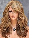 perruques de volume rasage de la mode de poire américaines et européennes couleur couleur de mélange