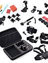 Accessoires pour GoPro FixationPour-Caméra d'action,Xiaomi Camera Gopro Hero 5 Gopro 3/2/1 Sports DV Gopro Hero 4 SJ4000 Nylon Plastique