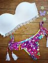 Femei Bikini Femei Cu Susținere Monocolor Push-up Nailon/Polyester