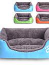 Chat / Chien Couchages Animaux de Compagnie Tapis & Planches Etanche / Mignon Vert / Bleu / Orange / Rouge Rose Tissu / Coton