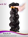 """3 st mycket 12 """"-30"""" brasilianska kroppen våg jungfru hårwefts naturligt svart remy människohår väv trasselfri"""