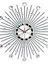 """Moderne/Contemporain Horloge murale,Rond Fer 50 x 50 x 3(19.69"""" x 19.69"""" x 1.18"""") Intérieur Horloge"""