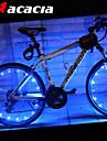 Cykellyktor / hjul lampor LED - Cykelsport batterier 400 Lumen Batteri / USB Cykling-Acacia®