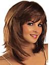 cheveux européens et américains ppopular couleur à la mode de haute qualité perruques perruques d'ondes naturelles
