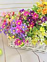34.5cm längd högkvalitativa och ljusa färg 28 huvuden per gäng lite daisy konstgjord blomma