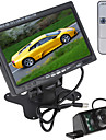 7 tums 800 x 480 LCD-färgskärm bil bakifrån monitor med HDMI + 7 ir lampor bil backkamera