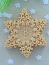 forme de flocons de neige gâteau fondant au savon moule moule en silicone de chocolat, des outils de décoration ustensiles de cuisson