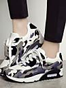 Chaussures Femme - Extérieure / Décontracté - Noir / Rose - Talon Compensé - Confort / Bout Arrondi / Bout Fermé - Baskets à la Mode -