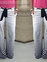 Pantalon ( Coton ) Sexy/Plage/Informel/Imprimé Femme