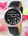 pentru Doamne Ceas La Modă Quartz PU Bandă Ceas Global Negru Alb Alb Negru/Alb Negru Alb/Alb