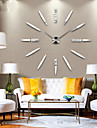 ny modern design med hög kvalitet tyst 3d DIY väggklocka 12s012