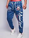Pantalon de Sport Pour des hommes A Motifs Décontracté/Travail/Formel/Sport Coton