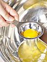 acier inoxydable de haute qualité jaune d'oeuf et le blanc d'oeuf séparateur