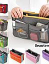 la mode casual des femmes multifonctionnel maille cosmétique sac de maquillage fourre-tout de stockage organisateur (7 couleur choisir)