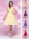 ARDARE - Kleid für Cocktailparty aus Chiffon und Elastisch gewebte Seide