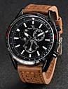 V6 Bărbați Ceas de Mână Quartz Quartz Japonez Piele Bandă Negru Maro Khaki Alb Negru Maro Kaki