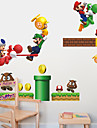 stickers muraux mur style décalcomanies mario pvc stickers muraux