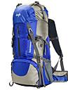 60 L Backpacker-ryggsäckar Camping / Klättring Utomhus Vattentät / Regnsäker / Bärbar / MultifunktionellRöd / Svart / Blå / Ljusgrön /