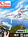 SYMA x5sw Drönare 6 Axel 4 Kanaler 2.4G Radiostyrd quadcopter Headless-läge / 360-Graders Flygning