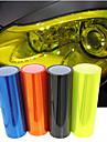 lorcoo ™ 100 * 30cm bil ljus membran genomskinlig scrub bakljus film (gratis gåva kant gummiskrapa + kniv)