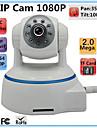 2.0 MP PTZ Inomhus with Dag Natt IR-filter 64(Dag Natt Rörelsedetektor Dubbel Stream Fjärråtkomst IR-cut Wi-Fi-Skyddad Setup Anslut och