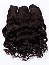 """evet brasilianskt hår buntar super våg # 1b jungfru hår väver hårweften obearbetat hår 2st 8 """"105g / lot nyanländ"""