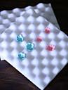 în formă de val tort spumă decorare sugarcraft pad pad de modelare instrument de flori de mucegai set de 2