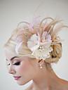 handgjorda bröllops fjäder hår klipp fascinator stycken Fascinators 033