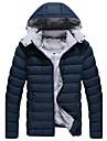 Manteaux & Vestes (Coton / Coton mélangé) Informel Sweat à capuche à Manches longues pour Homme