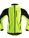 Arsuxeo® Veste de Cyclisme Homme Manches longues VéloRespirable / Garder au chaud / Pare-vent / Design Anatomique / Bandes