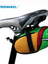 ROSWHEEL® Sac de Vélo 0.8LSacoche de Selle de Vélo Etanche Zip étanche Résistant aux Chocs Vestimentaire Sac de Cyclisme Polyester 600D