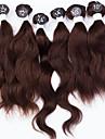 """indiska jungfru hårförlängningar indisk våg hår 7a högsta kvalitet 6st 2x10 """", 2x12"""", 2x14 """"200g / set människohår vävning"""