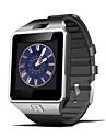 nya smarta klocka dz09 med bluetooth v4.1 stegräknare / stillasittande påminnelse / sömn övervakning / avlägsen kamera / anti-förlorade