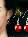 Aimei kvinnor 925 silver hög kvalitet handarbete eleganta örhängen