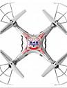 Drone RC X5C-1 4 Canaux 6 Axes 2.4G Avec Caméra HD 2.0MP Quadrirotor RCRetour Automatique / Failsafe / Mode Sans Tête / Upside-Down Vol /