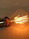 E27 40W diamant G95 sârmă drept bec Edison lo mare lampă bar pandantiv cu o sursă de lumină retro
