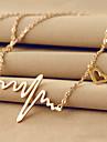 Dame Coliere cu Pandativ Aliaj Oțel titan 18K de aur La modă Argintiu Roz trandafiriu Bijuterii Nuntă Petrecere Zilnic Casual 1 buc