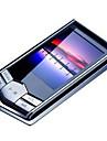"""bärbara 8GB 4g smal mp3 mp4-spelare med 1,8 """"LCD-skärm fm-radio videospel film"""