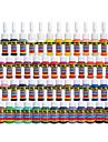 solong tatuering bläck 54 färger sätta 5 ml / flaska tatuering pigment kit