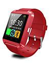 bluetooth smarta klocka u8 armbandsur u Smartwatch för samsung S4 / OBSERVERA 2/3 htc lg Xiaomi android Apples telefon smartphones