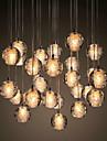 3 Hängande lampor ,  Modern Krom Särdrag for Kristall Metall Vardagsrum Dining Room Matsalsrum Kök Barnrum