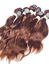 Human Hår vävar Brasilianskt hår Naturligt vågigt 12 månader hår väver