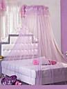 Un Panneau Moderne Solide Bleu / Vert / Rose / Pourpre / Blanc / Jaune / Orange Chambre à coucher PVC Sheer Rideaux Shades